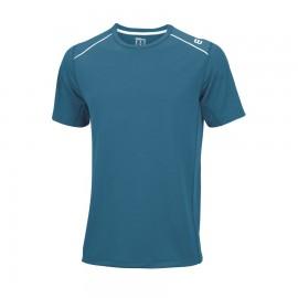 Pánské tenisové tričko Wilson Fenom Elite Ultramarine