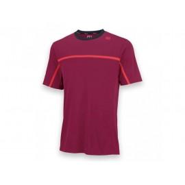 Pánské tenisové tričko Wilson Ringer Merlot