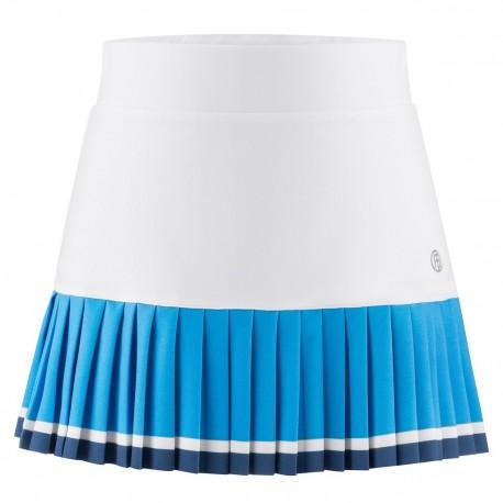 888e20738569 Dívčí tenisová sukně Poivre Blanc white riviera blue - Tenissport Březno