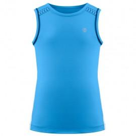 Dívčí tenisové tričko Poivre Blanc Riviera blue