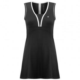 Dámské tenisové šaty Poivre Blanc black
