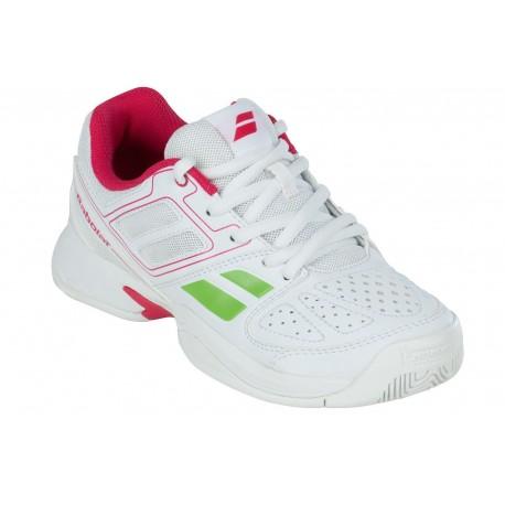 Tenisová obuv Babolat Pulsion BPM junior white/pink
