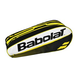 Tenisová taška Babolat Club X6 yellow