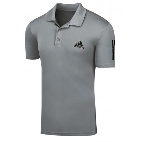 Pánské tenisové tričko adidas Club Polo grey