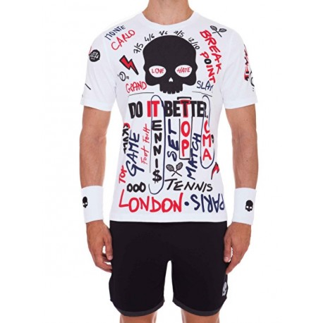 Pánské tenisové tričko Hydrogen Graffiti