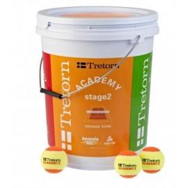 Dětské tenisové míče Tretorn Academy Orange  72 ks