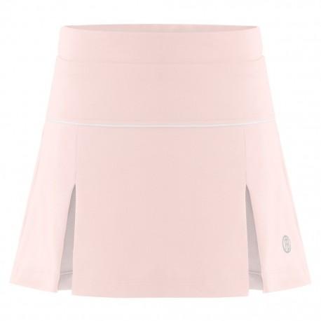 Dívčí tenisová sukně Poivre Blanc angel pink