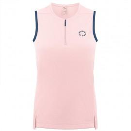 Dívčí tenisové tričko Poivre Blanc angel pink