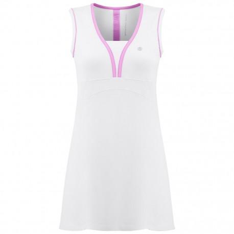 Dámské tenisové šaty Poivre Blanc white