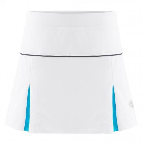 Dívčí tenisová sukně Poivre Blanc white blue