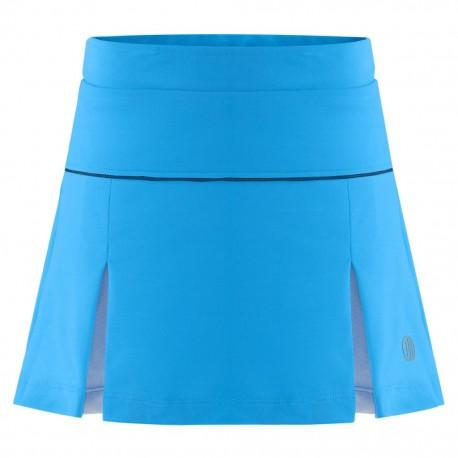 Dívčí tenisová sukně Poivre Blanc Riviera blue