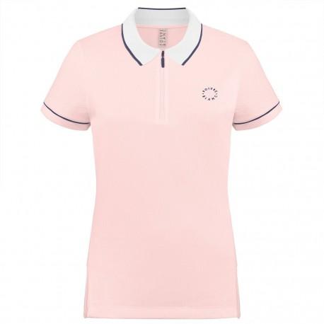 Dívčí tenisové tričko Poivre Blanc Polo angel pink