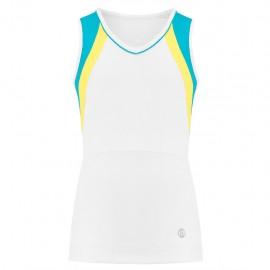 Dívčí tenisové tričko Poivre Blanc Tank white blue
