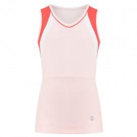 Dívčí tenisové tričko Poivre Blanc Tank angel pink red