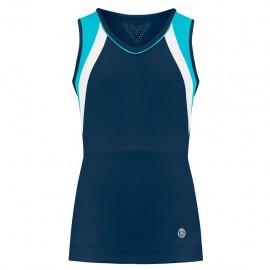 Dívčí tenisové tričko Poivre Blanc Tank deep blue