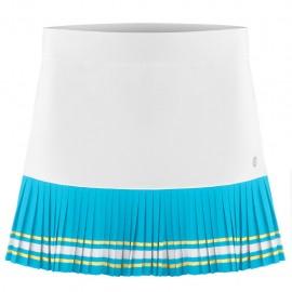 Dívčí tenisová sukně Poivre Blanc white bora blue