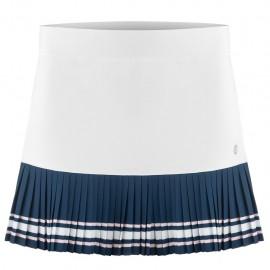 Dívčí tenisová sukně Poivre Blanc white deep blue