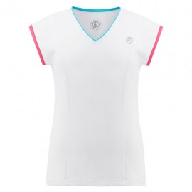 Dívčí tenisové tričko Poivre Blanc Sleeve white