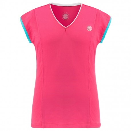 Dívčí tenisové tričko Poivre Blanc Sleeve pink