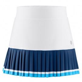 Dívčí tenisová sukně Poivre Blanc white scuba blue