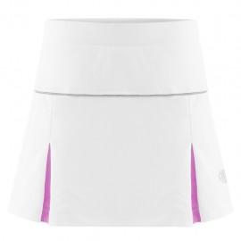 Dívčí tenisová sukně Poivre Blanc white sakura pink