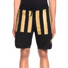 Pánské tenisové šortky Hydrogen US OPEN STRIPES black