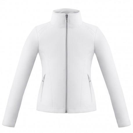 Dívčí tenisová bunda  Poivre-Blanc white