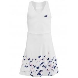 Dívčí tenisové šaty Babolat compete white