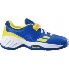 Dětská tenisová obuv Babolat Pulsion AC KID Blue aero