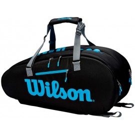 Tenisová taška Wilson Ultra 9PK black blue