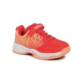 Dětská tenisová obuv Wilson Kaos K pink
