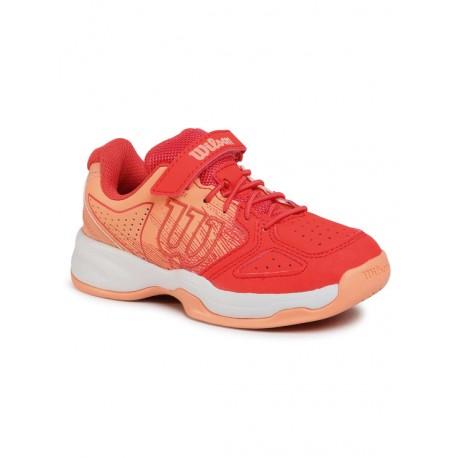 Dětská tenisová obuv Wilson Stroke K White