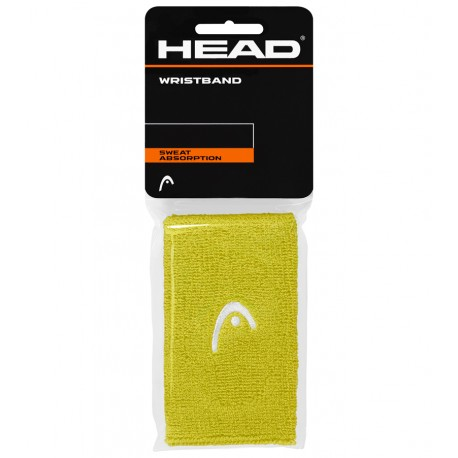 """Potítka HEAD Wristband 5"""" lime"""