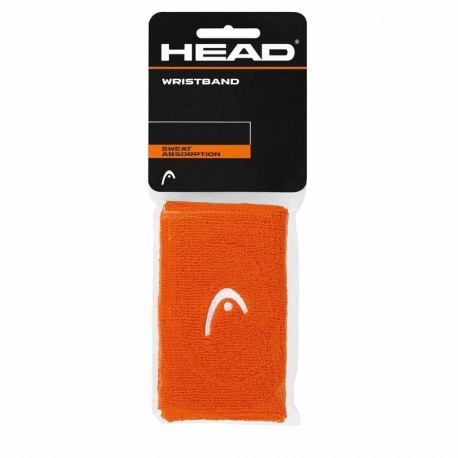 "Potítka HEAD Wristband 5"" orange"