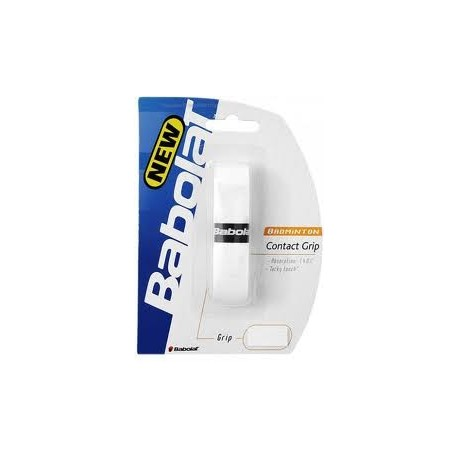 Babolat Badminton Contact Grip White